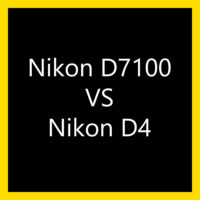 Porównanie szumów Nikon D7100 vs D4